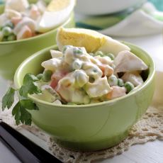 Ana Yemeğin Yanına Tamamlayıcı Bir Şeyler Arayanlar İçin Enfes Bir Rus Salatası Tarifi