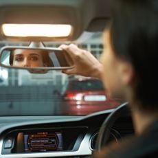 Otomobil Aynasının Kör Noktasını En Aza İndirecek Ayarlama Tekniği