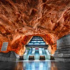 Sıradışı Bir Sanat Yolculuğu Sunan Stockholm Metrosu