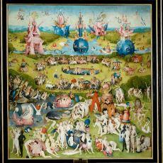 Hieronymus Bosch'un Kitap Gibi Açılan Bir Şekilde Tasarladığı Dev Eseri: Dünyevi Zevkler Bahçesi
