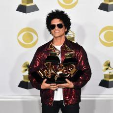 Bruno Mars'ın Yıkıp Geçtiği 60. Grammy Ödülleri Sahiplerine Kavuştu