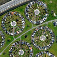 Danimarka'nın Brøndby Bölgesinde Yer Alan Aşırı Düzenli Yerleşim Alanı