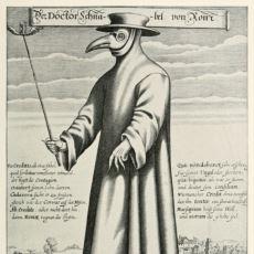Avrupa'yı Kırıp Geçiren Veba Salgınının Tedavisinde Görev Almış Doktorların Kullandığı İlginç Maske