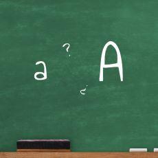 """Küçük """"a"""" Harfi Bilgisayarlarda ve Kitaplarda Neden Elle Yazdığımızdan Farklı?"""