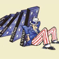 Sosyalist Bir Ülkenin Bu Rejimi Mutlaka Yayacağını Savunan ABD Kökenli Domino Teorisi