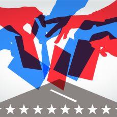Politik Görüşlerinizin Ne Yönde Olduğunu Görselleştiren Şema: Siyasi Spektrum