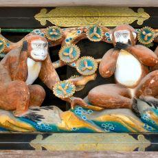 Üç Maymun Dediğimiz Kültün Aslında Bir Japon Tapınağındaki Dekordan Gelmesi