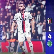 Beşiktaş'ın Aynı Hataları Yaparak 4-1 Kaybettiği Sporting Lizbon Maçının Analizi