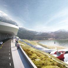 Kuzey Denizi İle Norveç Denizi'nin Birleştiği Bölgeye İnşa Edilmesi Planlanan 'Gemi Tüneli'