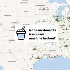 McDonald's'lardaki Bozuk Dondurma Makinesi Sayısını Hesaplayan İlginç Site: McBroken