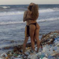 Pornhub, Sahillerdeki Kirliliğe Dikkat Çekmek İçin Çevreci Porno Film Çekti