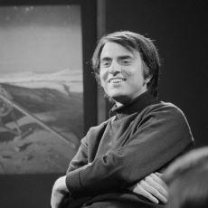 Birçok Farklı Konuda Kitabın Yer Aldığı, Carl Sagan'ın 1954 Yılındaki Okuma Listesi