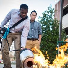 Susuz Köpüksüz Yangın Söndürücü İcat Edildi