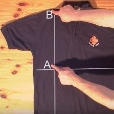 2 Saniyede Tişört Katlamanızı Sağlayacak Mükemmel Taktik