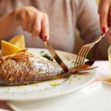 Çatal ve Bıçakla Nasıl Balık Yenir?