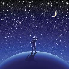 Dünya'dan Çıplak Gözle Bakınca Neden Ay ve Yıldızları Görüp, Gezegenleri Göremiyoruz?