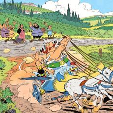 Halit Kıvanç ve Tevfik Ünsi'nin Asterix Karakterlerine Koyduğu Mükemmel İsimler