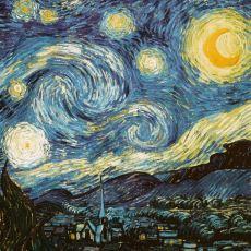 Vincent Van Gogh'un, Resimlerinde Çok Parlak Renkler Kullanmasının Bilimsel Nedeni