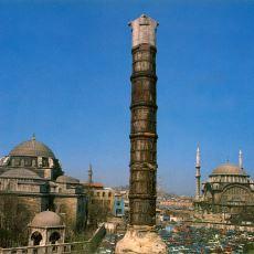 Türlü Efsanelere de Konu Olan 1700 Yıllık Tarihi Yapı: Çemberlitaş Sütunu