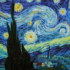 Van Gogh'un En Ünlü Tablosu Yıldızlı Gece'nin Teknik ve Sanatsal Analizi