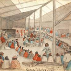 Kabile Toplumlarındaki Birikmiş Zenginliği Paylaşmak İçin Düzenlenen Tören: Potlaç