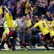 Umutsuzluğa Kapıldığınızda İzleyebileceğiniz Müthiş Bir 30 Saniye: Watford - Leicester Maçı