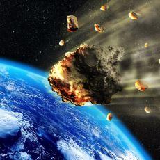 Gök Taşları Atmosfere Girerken Neden Yanar?