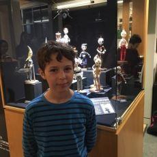 Tim Burtonvari Heykelleriyle Sanatını Konuşturan 12 Yaşındaki Callum Donovan-Grujicich