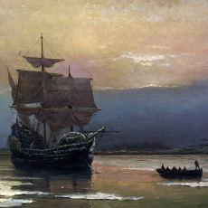1620'de Amerika'ya Göçmen Taşıyan İlk Gemi: Mayflower