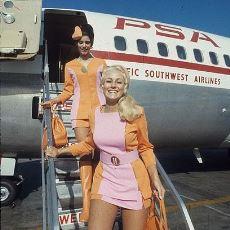 Seksi Hostes Modelini Hava Yolu Literatürüne Sokan Şirket: Pacific Southwest Airlines