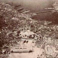 1918'de, Bir Alman Zeplininden Çekilen Kuş Bakışı İstanbul Fotoğrafları
