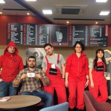 Samsun'da Çav Bella Eşliğinde Çay Servisi Yapılan Konsept Kafe: La Cafe de Papel