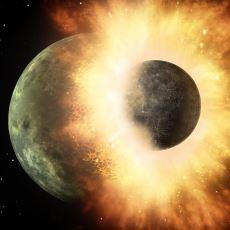Dünya'ya Yıllar Önce Mars Çapında Bir Gezegenin Çarptığını Söyleyen Tez: Giant Impact Theory