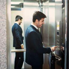Fotoğraf Çekmelere Doyamadığınız Asansör Aynalarının Esas Amacı