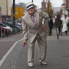 Berlin'de Adeta Bir Moda İkonu Haline Gelmiş Şıklığıyla Göz Kamaştıran Ali Amca