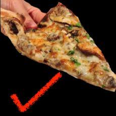 Pizza Kenarını Bükmeden Yemeye Çalıştığımızda Üzerindekilerin Dökülmesini Bir Teori Açıklıyor