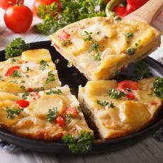 Kahvaltıda Yumurtayı Eksik Etmeyenlere Nefis İspanyol Omlet Tarifi