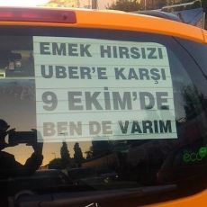 Taksicilerin UBER'e Karşı Yapacağı Eylemin Neden Taksiciler Haricinde Bir Destekçisi Yok?