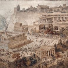 Zamanında İzmir Sınırları İçinde Kurulmuş Olan Pergamon Şehrinin Muhteşem Özellikleri