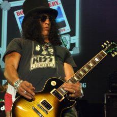 Kendine Has Stili ve Kıvır Kıvır Saçlarıyla Dünyanın Gelmiş Geçmiş En Karizma Gitaristi: Slash