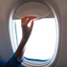 Uçak Kalkarken ve İnerken Güneşlikler Neden Açılır?