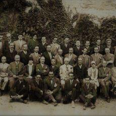 Türk Edebiyatçıların 1928'de Çekilmiş Şampiyonlar Ligi Tadında Fotoğrafı