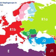 Son Günlerde Sosyal Medyada Dolanan DNA'ya Göre Avrupa Haritası Neden Tam Olarak Gerçeği Yansıtmıyor?