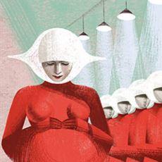 Distopya Seven Bünyelerin İlacı The Handmaid's Tale Kitabından Rahatsız Edici Alıntılar