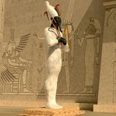 Antik Mısır'da Ölümsüz Yaşam İçin Diriliş Tanrısı, Ölülerin Yargıcı: Osiris