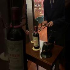 7000 Euro'luk Petrus Şarabının İlk Defa Görenleri Şaşırtan Açılışı