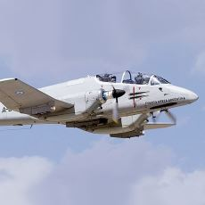 Fakir Thunderbolt'u: Arjantin'in Zamanında Büyük Kozlarından Biri Olan IA 58 Pucará Uçağı