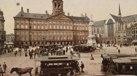 100 Yıl Önce Hollanda'nın Nasıl Bir Yer Olduğunu Gösteren 1922 Amsterdam Videosu