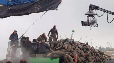 Game Of Thrones'un 6. Sezon 9. Bölümündeki Savaş Sahnesinin İnanılmaz Kamera Arkası