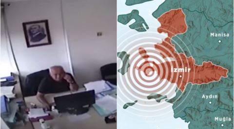 İzmir Depremi Sırasında Telefon Görüşmesini Bozmayan Müthiş Soğukkanlı Dayı